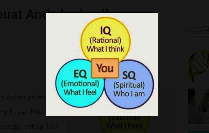 Bukan IQ yang Membuat Anda berhasil