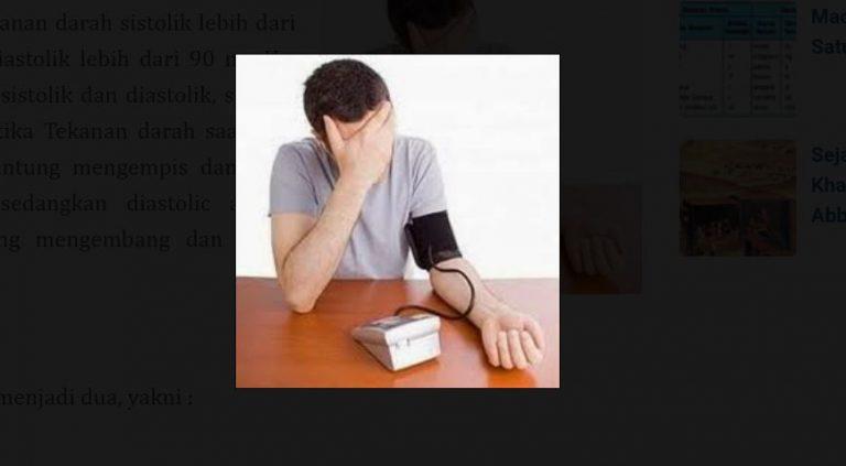 Mengenal Penyakit Hipertensi